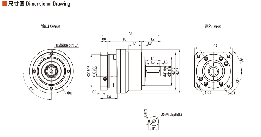 中大电机ZE系列减速机