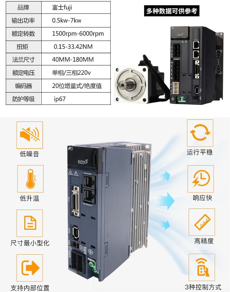 富士SMART系列伺服电机驱动器