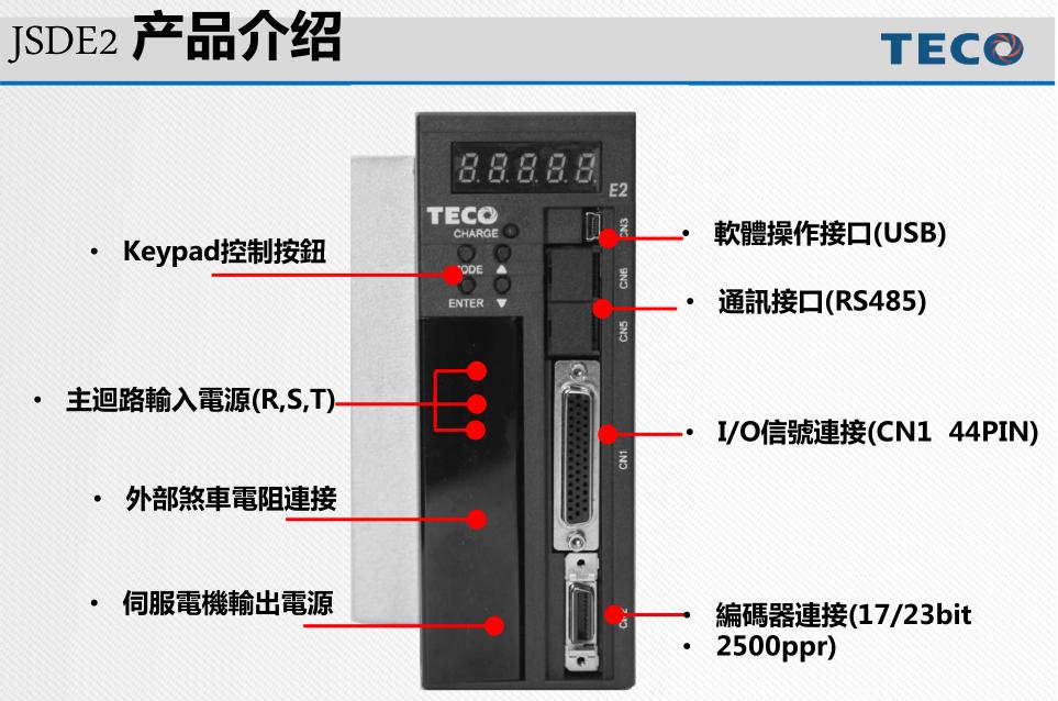 东元通用交流伺服驱动器JSDE2产品详情